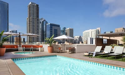 Pool, Harborview Apartment Homes, 0