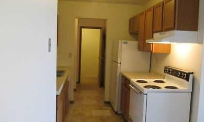 Kitchen, Sallie Apartments, 1