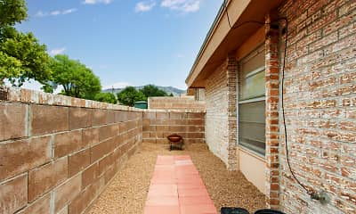 Patio / Deck, Starlight Court Quad Homes, 2