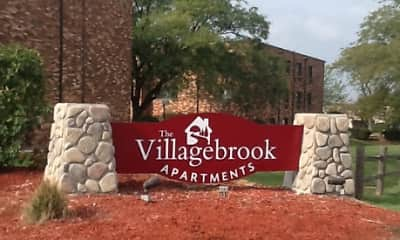 Community Signage, Villagebrook Apartments, 2