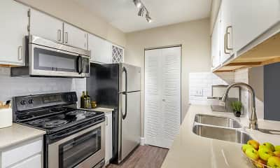 Kitchen, Copper Creek Apartments, 2