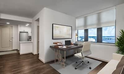 Living Room, Camden Potomac Yard, 1