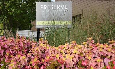 Community Signage, The Preserve at Allisonville, 1