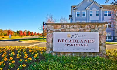 Community Signage, Broadlands Apartments, 1
