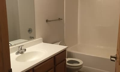 Bathroom, Northern Star Apartments, 2