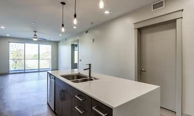 Kitchen, The Homes at Rivers Edge Apartments, 1