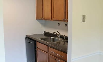 Kitchen, Strasburg Court Apartments, 1