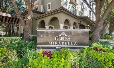 Community Signage, Gables Mirabella, 2