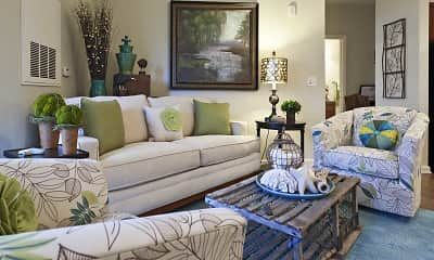 Living Room, Evolve at Stones Bay, 1
