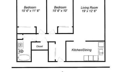 McCarrons Village Apartments, 2