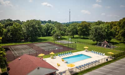Pool, Colebrook Apartments, 1