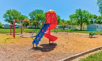 Playground, West Branch Village, 1