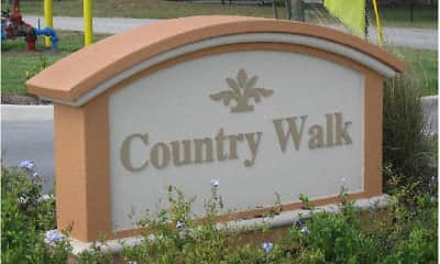 Community Signage, Country Walk Apartments, 0