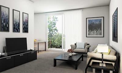 Living Room, Royal Hill Apartments, 0