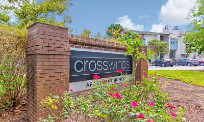 Community Signage, Crosswinds Apartments, 2