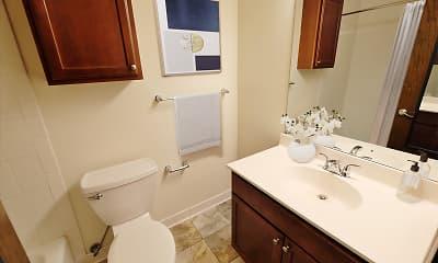 Bathroom, Dupont Avenue Apartments, 2