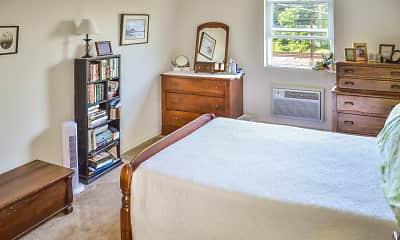 Bedroom, Penn Weldy Apartments, 2