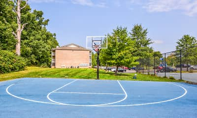 Basketball Court, Burlington Oaks, 2
