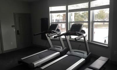 Fitness Weight Room, Palmilla Apartments, 2