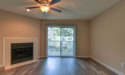 Living Room, The Grove at Trinity Pointe, 1