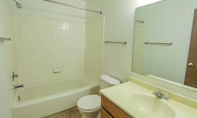 Bathroom, Peppermill Village, 2