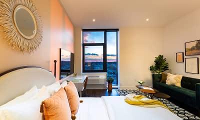 Bedroom, The Irvine Apartments, 1