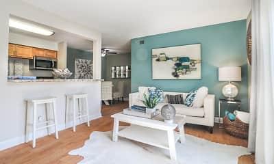 Living Room, Collins Crossing, 1