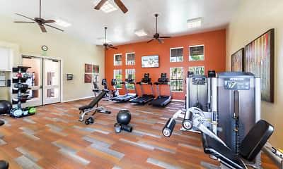 Fitness Weight Room, Villa Coronado, 2