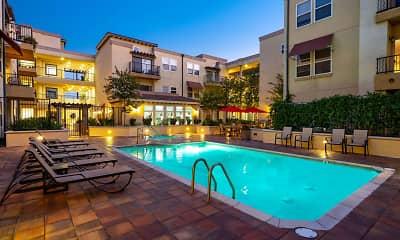 Pool, The Villagio Apartments, 0