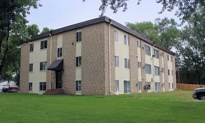 Building, Granite City Apartments, 2