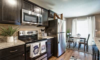 Kitchen, Lakeview Crossing Townhomes, 0