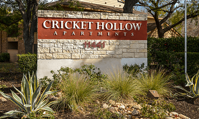 Community Signage, Cricket Hollow, 0