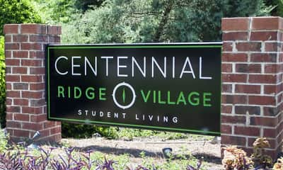 Community Signage, Centennial Ridge and Village, 2