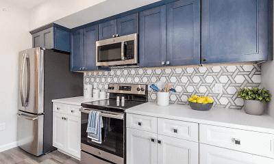 Kitchen, Monroe Ave Apartments, 1