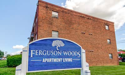Community Signage, Ferguson Woods, 2