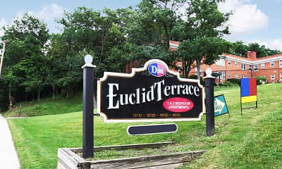 Community Signage, Euclid Terrace Apartments, 2
