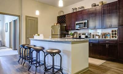 Kitchen, Brookson Resident Flats, 1