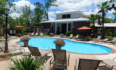 Pool, Lagniappe of Biloxi Apartment Homes, 1