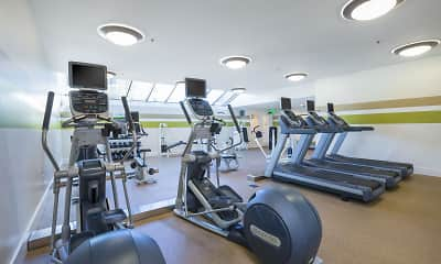 Fitness Weight Room, Crystal Springs Terrace, 1