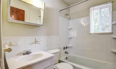 Bathroom, Stonegate Apartments, 2