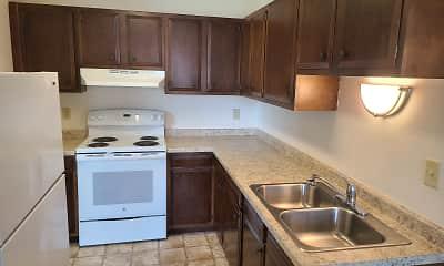 Kitchen, Green Apartments, 2