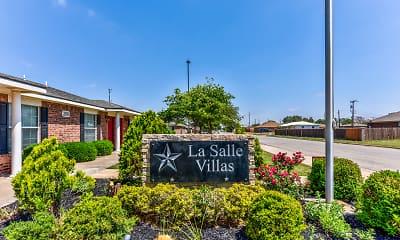 Community Signage, LaSalle Villas, 2
