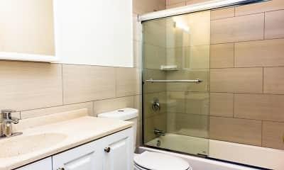 Bathroom, Pinon Manor Apartments, 2