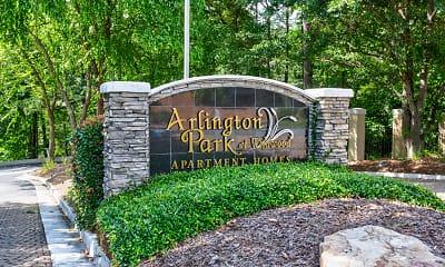 Community Signage, Arlington Park at Wildwood, 2