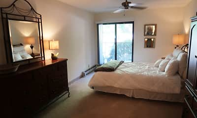 Bedroom, Mountain Village Apartments, 1