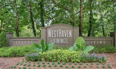 Community Signage, WestHaven at Vinings, 2
