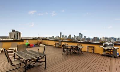 Recreation Area, 1700 Madison Apartments, 1