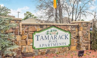Community Signage, Tamarack Place, 2