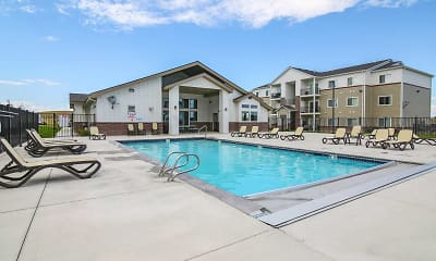 Pool, Gateway Apartments, 1