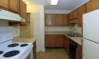 Kitchen, Northtown Apartments, 2